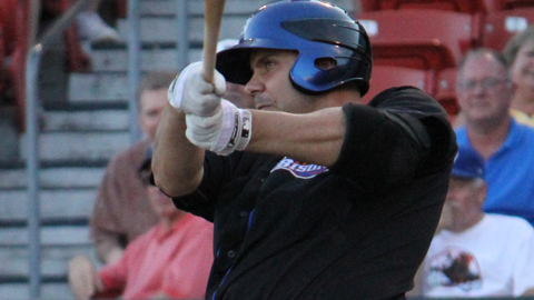 Valentino Pascucci had a pair of three-homer games for Triple-A Edmonton in 2004.