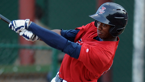 Infielder Niko Goodrum was the Twins' second-round Draft pick in 2010.
