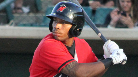 Leon Landry shares the Minor League lead with 16 triples.