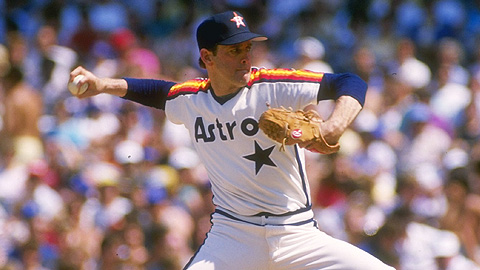 Nolan Ryan, who threw seven no-hitters, is now the owner of the Rangers.